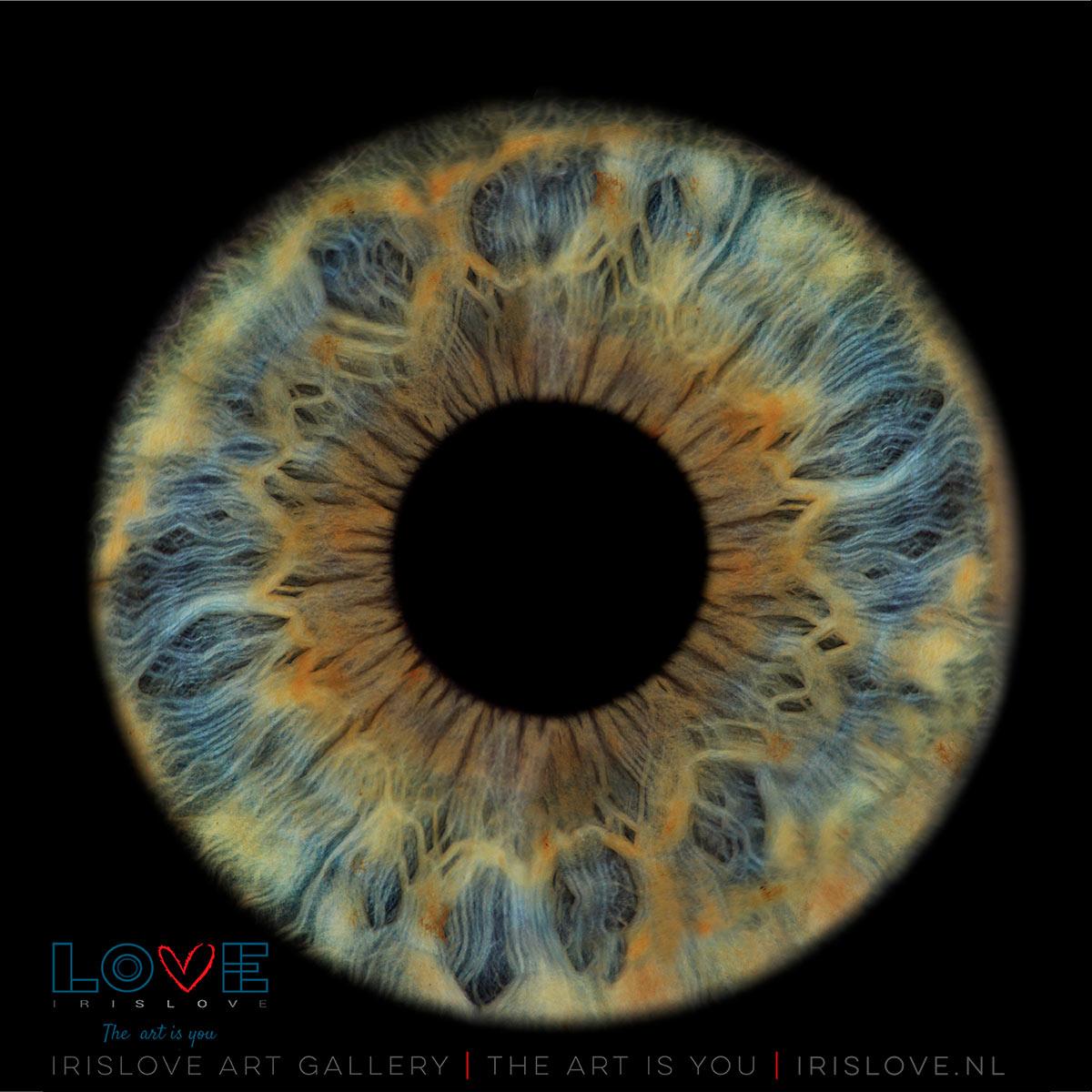 Kunstwerk van oog